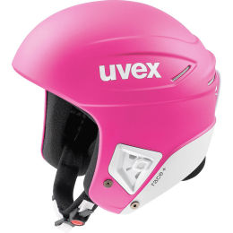 UVEX RACE + PINK WHITE MAT 20
