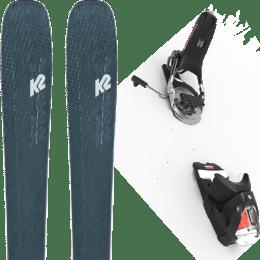 Boutique K2 K2 MINDBENDER 98 TI ALLIANCE 20 + LOOK PIVOT 14 GW B115 BLACK/ICON 22 - Ekosport