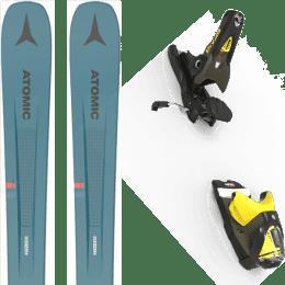 Pack ski alpin ATOMIC ATOMIC VANTAGE 97 C BLUE/GREY 21 + LOOK SPX 12 GW B100 KAKI/YELLOW 20 - Ekosport