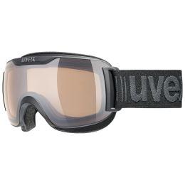UVEX DOWNHILL 2000 CV BLACK MAT/MIR ROSE/COL GREEN 20