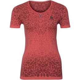 ODLO T-SHIRT MC EVOLUTION LIGHT DUBARRY/FIERY CORAL 18