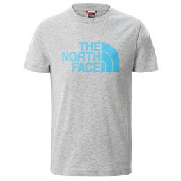 THE NORTH FACE Y S/S EASY TEE TNFLGHTGRYHTR/MERIDIANBLU 21