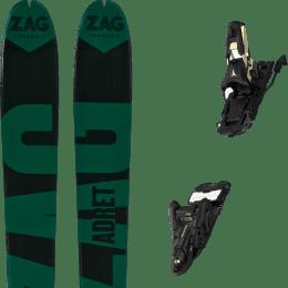 Boutique ZAG ZAG ADRET 81 20 + ATOMIC SHIFT 13 MNC N BLACK/GOLD 90 22 - Ekosport