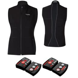LENZ HEAT VEST 1.0 WOMEN + LITHIUM PACK RCB 1800 BLACK 21