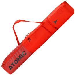 ATOMIC DOUBLE SKI BAG BRIGHT RED/DARK RED 21