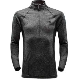 THE NORTH FACE SMT L1 TOP BLACK HEATHER 18