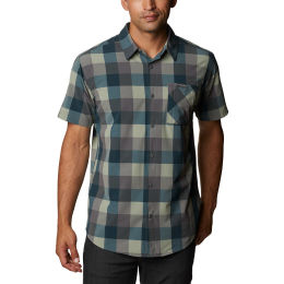 COLUMBIA TRIPLE CANYON™ SS SHIRT CITY GREY GRID 21