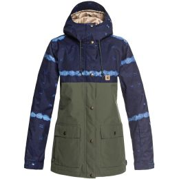 DC SHOES CRUISER JKT W DARK BLUE MUD CLOTH 19