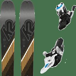Pack ski+fix K2 K2 WAYBACK 96 SMU 22 + FRITSCHI VIPEC EVO 12 100MM 22 - Ekosport