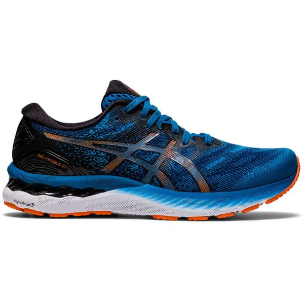 ASICS Chaussure running Gel-nimbus 23 Reborn Blue/black Homme Bleu taille 8.5