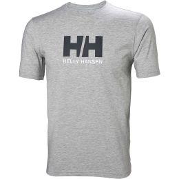 HELLY HANSEN HH LOGO T-SHIRT GREY MELANGE 21