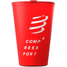 COMPRESSPORT FAST CUP RED 21