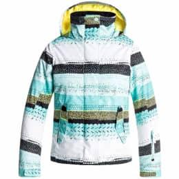 Vêtement hiver ROXY ROXY JETTY GIRL JKT ARUBA BLUE LIZZYDOTS 18 - Ekosport