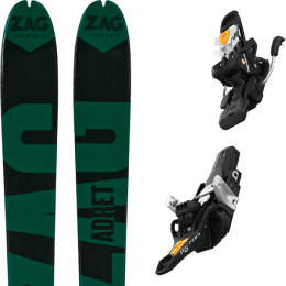 Ski randonnée ZAG ZAG ADRET 81 20 + FRITSCHI TECTON 12 90MM 21 - Ekosport
