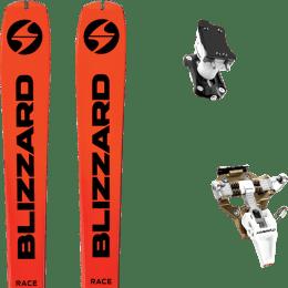 Ski randonnée BLIZZARD BLIZZARD ZERO G RACE 21 + DYNAFIT SPEED TURN 2.0 BRONZE/BLACK 21 - Ekosport
