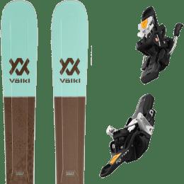 Pack ski alpin VOLKL VOLKL SECRET 102 20 + FRITSCHI TECTON 12 110MM 21 - Ekosport