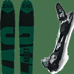 Matériel ZAG ZAG ADRET 81 20 + MARKER F10 TOUR BLACK/WHITE 20 - Ekosport