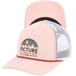 PICTURE KULDO TRUCKER CAP PINK 21