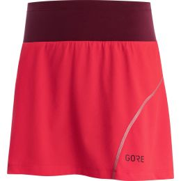 GORE R7 F JUPE-SHORT HIBISCUS PINK/CHESTNUT RED 21