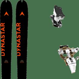 Ski randonnée DYNASTAR DYNASTAR M-PIERRA MENTA OPEN 21 + DYNAFIT SPEED TURN 2.0 BRONZE/BLACK 21 - Ekosport