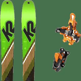 Ski randonnée K2 K2 WAYBACK 88 SMU 22 + PLUM OAZO 8 22 - Ekosport