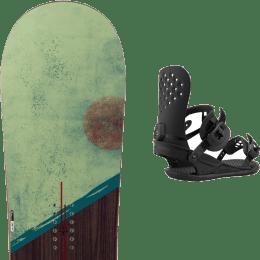 Snowboard ROSSIGNOL ROSSIGNOL TEMPLAR 21 + UNION STRATA BLACK 21 - Ekosport