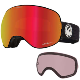 Protection du skieur DRAGON DRAGON X2 SPLIT/LL RED ION+LL LIGHT ROSE 21 - Ekosport