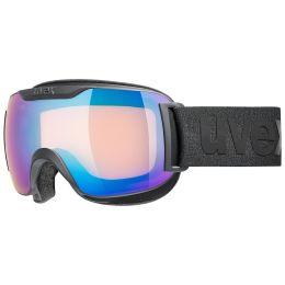 UVEX DOWNHILL 2000 SMALL CV BLACK MAT/MIR BLUE/COL YELLOW 21