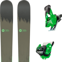 Pack ski alpin ROSSIGNOL ROSSIGNOL SMASH 7 20 + TYROLIA ATTACK² 13 GW GREEN W/O BRAKE 19 - Ekosport