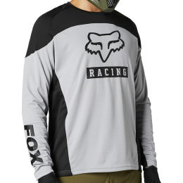FOX DEFEND LS JERSEY STEEL GRAY 21