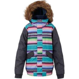 Vêtement de ski BURTON BURTON WHIPLY BOMBER JKT GIRL MIJITA/DENIM 18 - Ekosport