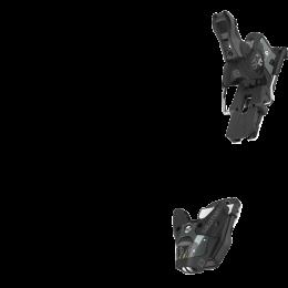 SALOMON STH2 WTR 13 N BLACK/GREY 21 + SALOMON / ATOMIC STOP SKI C115 21
