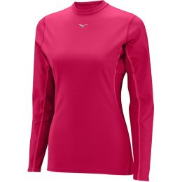 MIZUNO WOMEN'S MIDDLE WEIGHT CREW PINK 19