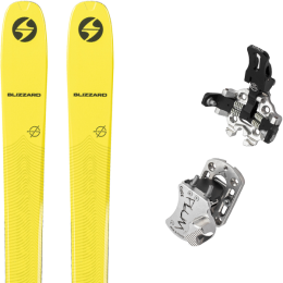 BLIZZARD ZERO G 085 YELLOW 21 + PLUM GUIDE 12 GRIS 20