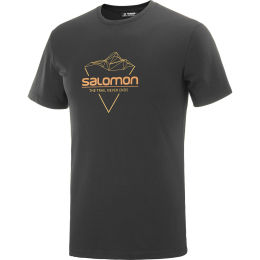 SALOMON BLEND LOGO SS TEE M BK/CUMIN/APRIC 20