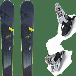 Pack ski+fix FISCHER FISCHER PRO MT 95 TI 19 + MARKER GRIFFON 13 ID WHITE 20 - Ekosport
