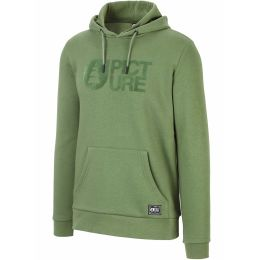 PICTURE BASEMENT FLOCK HOODIE ARMY GREEN 21