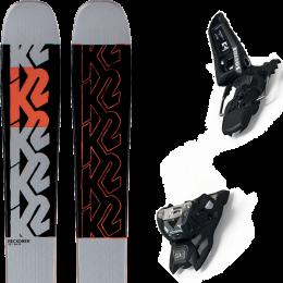 K2 RECKONER 102 21 + MARKER SQUIRE 11 ID BLACK 21