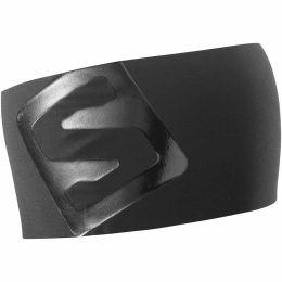 SALOMON RS PRO HEADBAND BLACK/SHINY BLACK 21