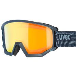 Boutique UVEX UVEX ATHLETIC FM NAVY MAT/MIR ORANGE/LASERGOLD LITE 20 - Ekosport