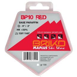 Entretien Ski BRIKO MAPLUS BRIKO MAPLUS BP10 RED 100GR 20 - Ekosport