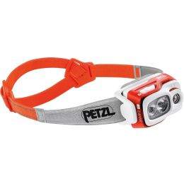 BU Ski Alpin PETZL PETZL LAMPE SWIFT RL ORANGE 21 - Ekosport