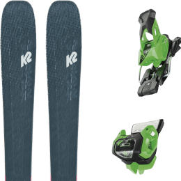 Pack ski alpin K2 K2 MINDBENDER 98 TI ALLIANCE 20 + TYROLIA ATTACK² 13 GW BRAKE 95 [A] GREEN 19 - Ekosport
