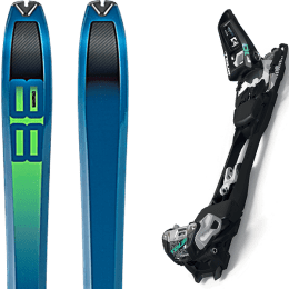 Pack ski DYNAFIT DYNAFIT TOUR 88 19 + MARKER F10 TOUR BLACK/WHITE 20 - Ekosport