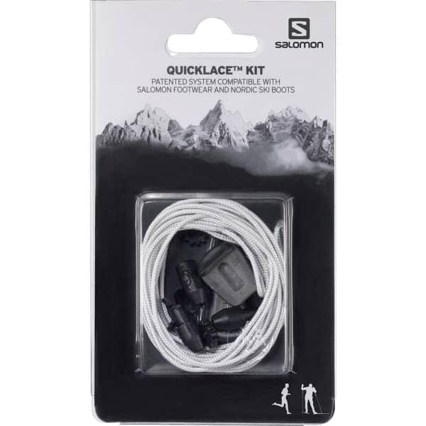 SALOMON Lacet chaussure Quicklace Kit Natural Blanc Unique