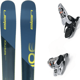 Pack ski alpin ELAN ELAN RIPSTICK 106 20 + MARKER GRIFFON 13 ID WHITE 20 - Ekosport