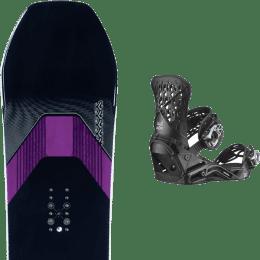 Snowboard K2 K2 MANIFEST 21 + SALOMON HIGHLANDER BLACK 21 - Ekosport