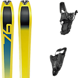 Ski randonnée DYNAFIT DYNAFIT SPEED 76 20 + SALOMON S/LAB SHIFT MNC 13 N BLACK SH90 22 - Ekosport
