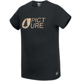 PICTURE BASEMENT CORK TEE BLACK 21