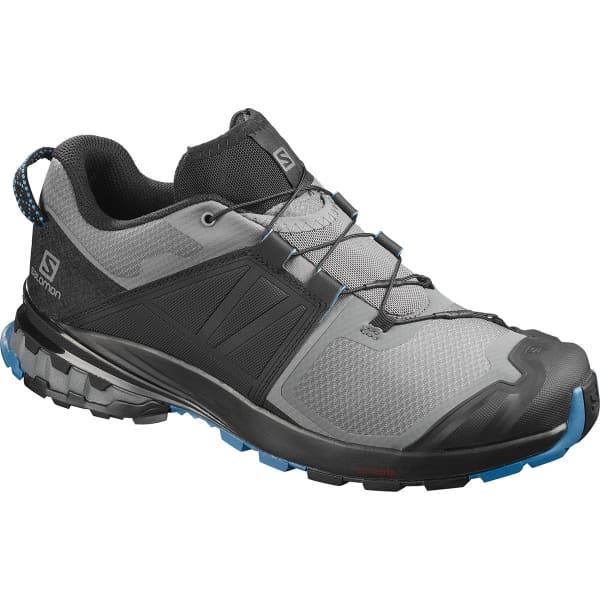 SALOMON Chaussure trail Xa Wild Quiet Shade/bk/blue Astr Homme Noir/Gris/Bleu taille 8.5